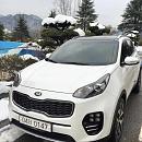 Белый металлик KIA Sportage 2016